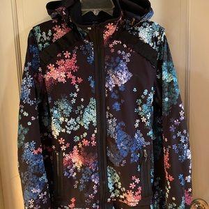Lululemon run bandit 12 petal pop floral jacket